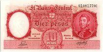 Argentina 10 Pesos, José de San Martin - 19(42-54)