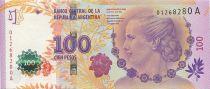 Argentina 100 Pesos Eva Peron (Evita) - Serial A 2012