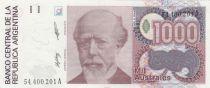 Argentina 1000 Australes J. A. Roca - Liberty - 1988