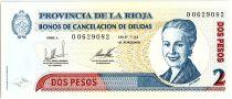 Argentina 2 Pesos, Eva Peron - 2001