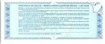 Argentina 5 australes , Province of Salta - 1987