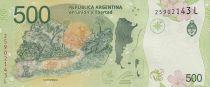 Argentina 500 Pesos Jaguar - 2020 - Prefix L - UNC - P.365