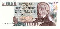 Argentina 50000 Pesos, J. San Martin - Central Bank - 1979 - -UNC - P.307