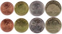Argentina Set 4 coins 2018 - Union y Libertad