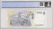 Argentine 1 peso, Carlos Pellegrini  - 1992 - Spécimen - PCGS 66OPQ