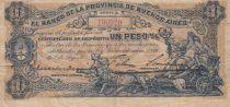 Argentine 1 Peso Banco de la Provincia de Buenos Aires - 1891 - TB+ - S.573