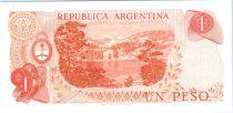 Argentine 1 Peso Général Manuel Belgrano - Bariloche-Llao-Llao - Série C