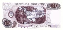 Argentine 10 Pesos, Général Belgrano - 1970