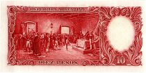 Argentine 10 Pesos, José de San Martin - 19(54-63)