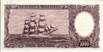 Argentine 10 Pesos sur 1000 Pesos, José de San Martin - 1969