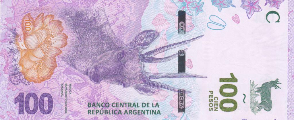 Argentine 100 Pesos Taruca - Série C 2018