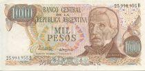 Argentine 1000 Pesos J. San Martin - Place de Mai