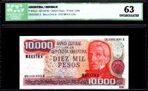 Argentine 10000 Pesos J. San Martin - Parc national - 1976 - ICG UNC63
