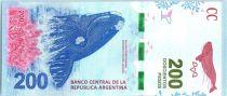 Argentine 200 Pesos Baleine - 2016