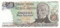 Argentine 50 Pesos argentinos ND1983 - J. San Martin - Jujuy