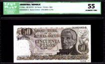 Argentine 50 Pesos J. San Martin - Vue de Jujuy - 1972 - ICG AU 55