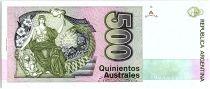 Argentine 500 Austales, Nicolas  Avellanedas - 1988