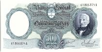 Argentine 500 Pesos, José de San Martin - 19(64-69)