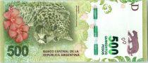 Argentine 500 Pesos Jaguar - 2016