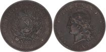 Argentine Argentine - 2 Centavos 1891 - PSUP