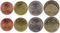 Argentine Série 4 Monnaies 2018 -  Union et Liberté