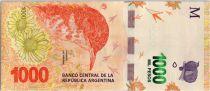 Argentinien 1000 Pesos Hornero - 2017