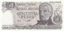 Argentinien 50 Pesos J. San Martin - Hot springs at Jujuy - 1975