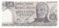 Argentinien 50 Pesos J. San Martin - Jujuy - 1978