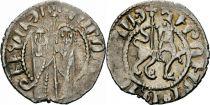 Armenia 1 Tram Silver - Hetoum I 1226-1271 - VF