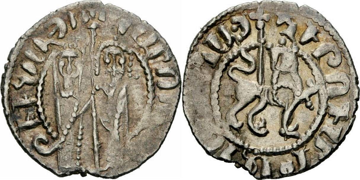 Arménie 1 Tram Argent - Hetoum I 1226-1271 - TTB