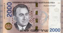 Arménie 2000 Dram Tigran Petrsyan (Champion d\'échecs) - 2018
