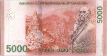 Arménie 5000 Dram William Saroyan - 2018
