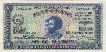 Äthiopien 2 Thalers, Hailé Selassié - 1933 - P.6 - VF