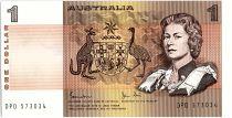 Australia 1 Dollar  Elizabeth II - 1983