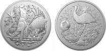 Australia 1 Dollar Coat of Arms -  1 Oz Silver 2021