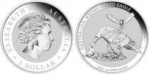 Australia 1 Dollar Elisabeth II - Eagles - 1 Oz Silver 2018