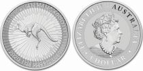 Australia 1 Dollar Elizabeth II - Kangaroo 1 Oz Silver 2020