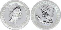 Australie 1 Dollar Elisabeth II - Kookaburra Once Argent 1992