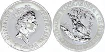 Australia 1 Dollar Elizabeth II - Kookaburra Silver Oz 1992