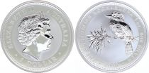 Australia 1 Dollar Elizabeth II - Kookaburra Silver Oz 2000