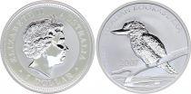 Australie 1 Dollar Elisabeth II - Kookaburra Once Argent 2007