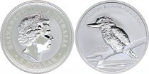 Australia 1 Dollar Elizabeth II - Kookaburra Silver Oz 2007