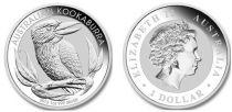 Australie 1 Dollar Elisabeth II - Kookaburra Once Argent 2012
