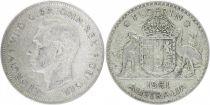 Australia 1 Florin George VI - Silver - 1951