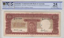Australia 10 Pounds George VI - 1942 - PCGS VF 25