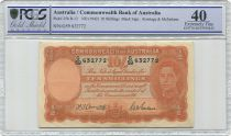 Australia 10 Shillings George VI - Workers - 1942 - PCGS EF 40