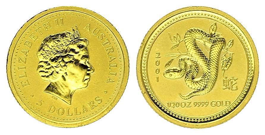 Australia 100 Dollars Elizabeth II - Kangoroo Gold Oz 2015