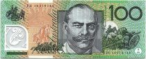 Australia 100 Dollars John Mona - Mellie Melba - 2014 UNC Polymer
