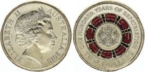 Australie 2 Dollars Elisabeth II - Repratriation - 2019 Colorisée