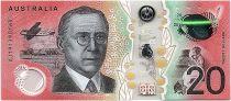 Australia 20 Dollars Mary Reibey - John Flynn - 2019 - UNC Polymer